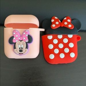 Minnie Mouse AirPods Case - New